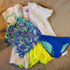 Bundle of Girls Swimwear swim set